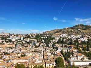 Alhambra tour Musement view at the end