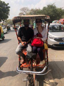 A Day in Delhi rickshaw ride