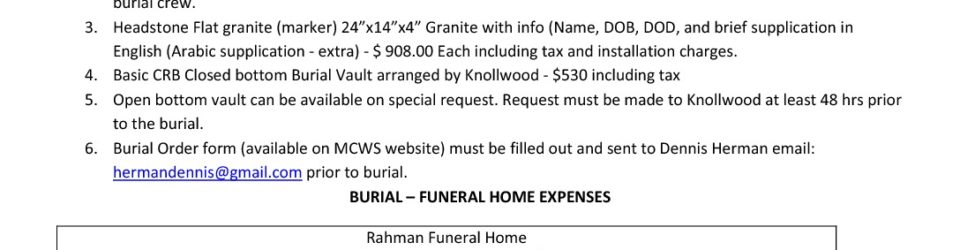 thumbnail of MCWS Burial Expenses Agreement