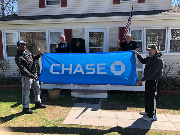 Veterans with CHASE Banner