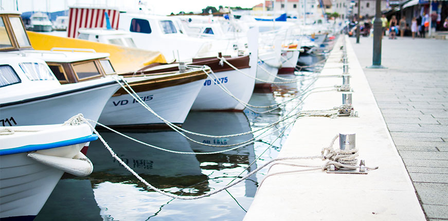 Stock image of boats