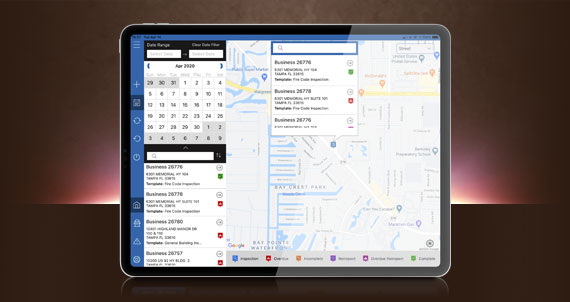 ipad pro streamline inspections mapping