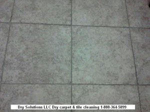 Dirty office tile