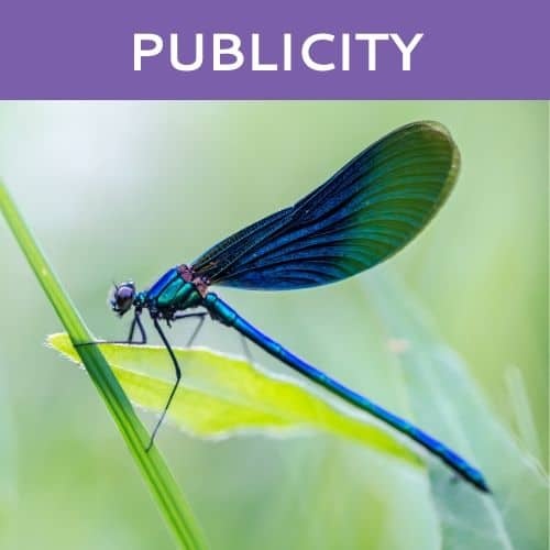 Publicity by Dragonfly Publicity in Seattle and Cleveland