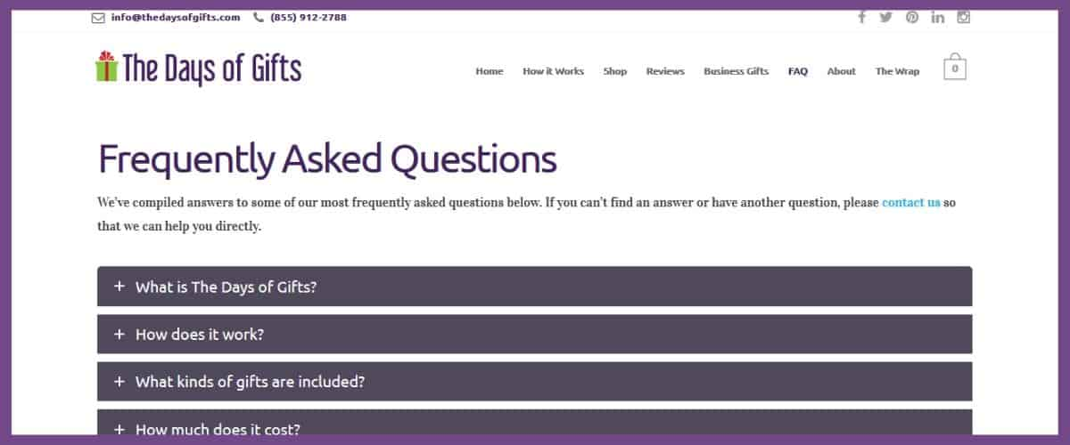 The Necessary Nine Musts for a Website — #7: Create an FAQ Page