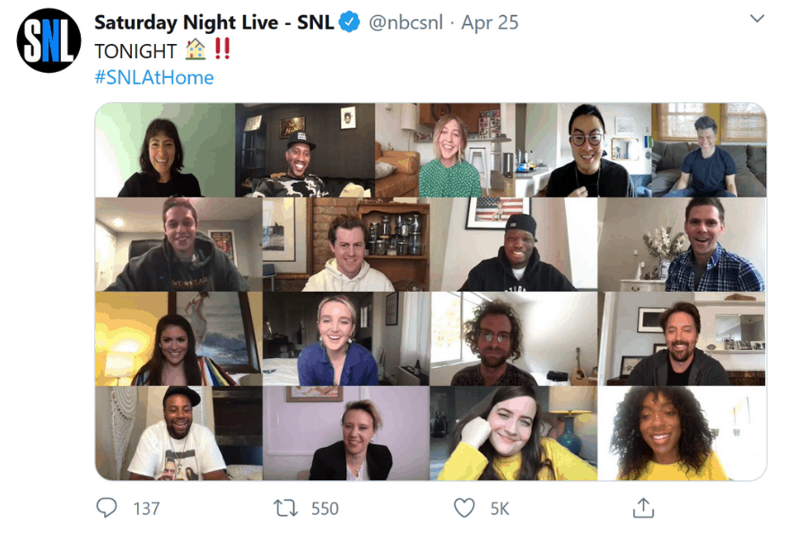 "Time to Be Inventive: Saturday Night Live's ""At Home"" Episodes"