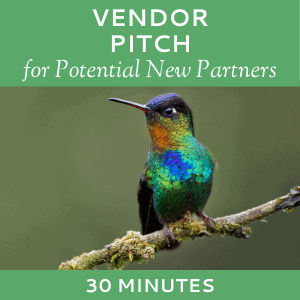 Schedule a Vendor Pitch with Hummingbird Marketing Services (for Potential Partners)