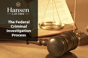 The Federal Criminal Investigation Process