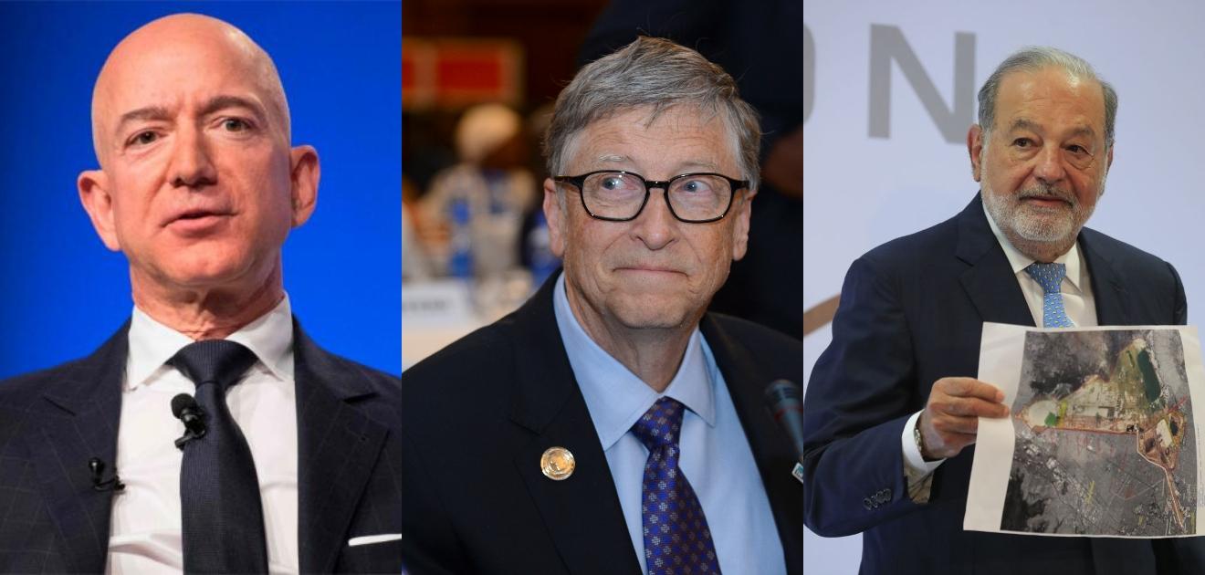 empresarios más ricos del mundo