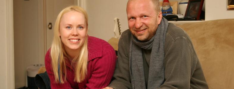 Angel and Finnish filmmaker Erkki Määttänen