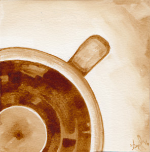 Coffee Art - National Disc Jockey Day