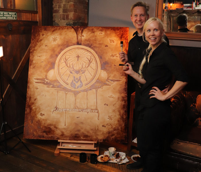 Coffee Art - Jagermeister Cold Brew Event