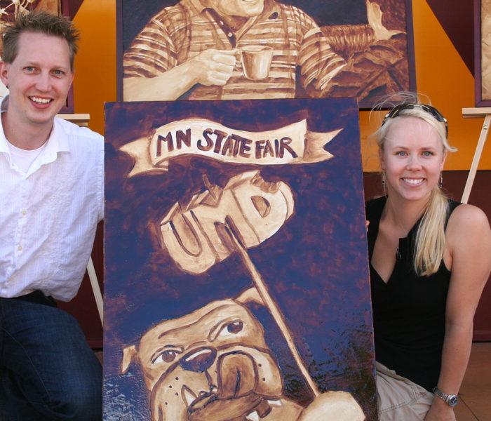 Coffee Art - Minnesota State Fair