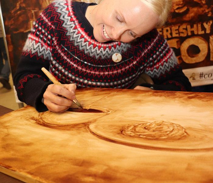 Coffee Art - Norsk Hostfest