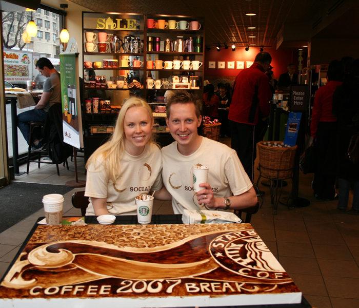 Coffee Art - Starbucks International Coffee Break