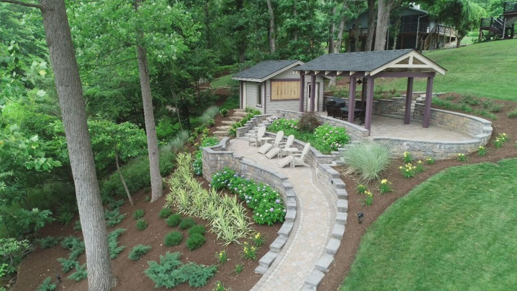 Multi dimensional patios