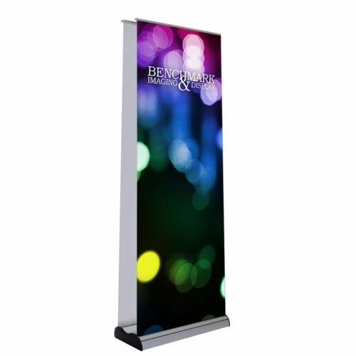 EPlus Double Banner Stand side a