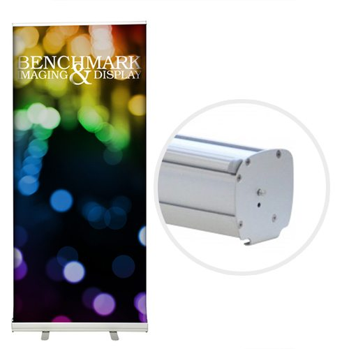 Affordable Retractable Banner Stand with Custom Graphic
