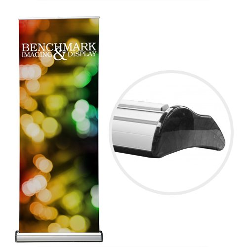 Telescoping Banner Stand with Custom Graphic