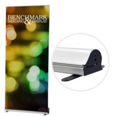 Tall Adjustable Banner Stands for Custom Graphics