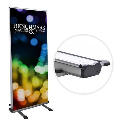 Double-sided or Single-sided Outdoor Banner Stand with Custom Graphics