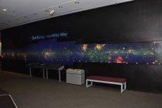 Lambda Backlit Panel at Alder Planetarium