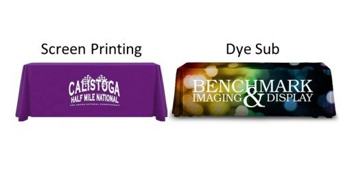 Table Drapes Printing Techniques Comparison