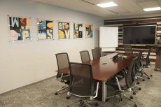 Corporate Interior with Stand Off System