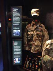 backlit info panel on uniform display