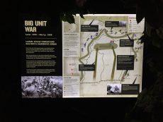 backlit lightbox map info panel