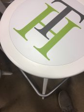 Tunnel Hill Branded Stool