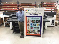 Matt in front of the HP R2000