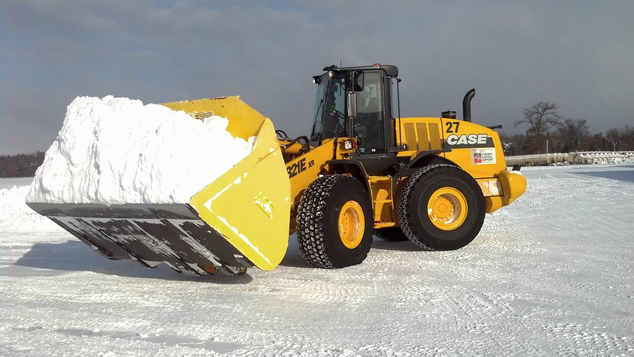 Heavy Machinery Snow Removal