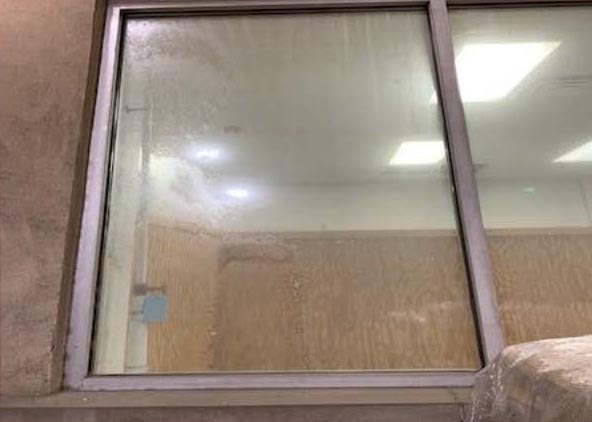 Retail Glass Protection / Home Depot