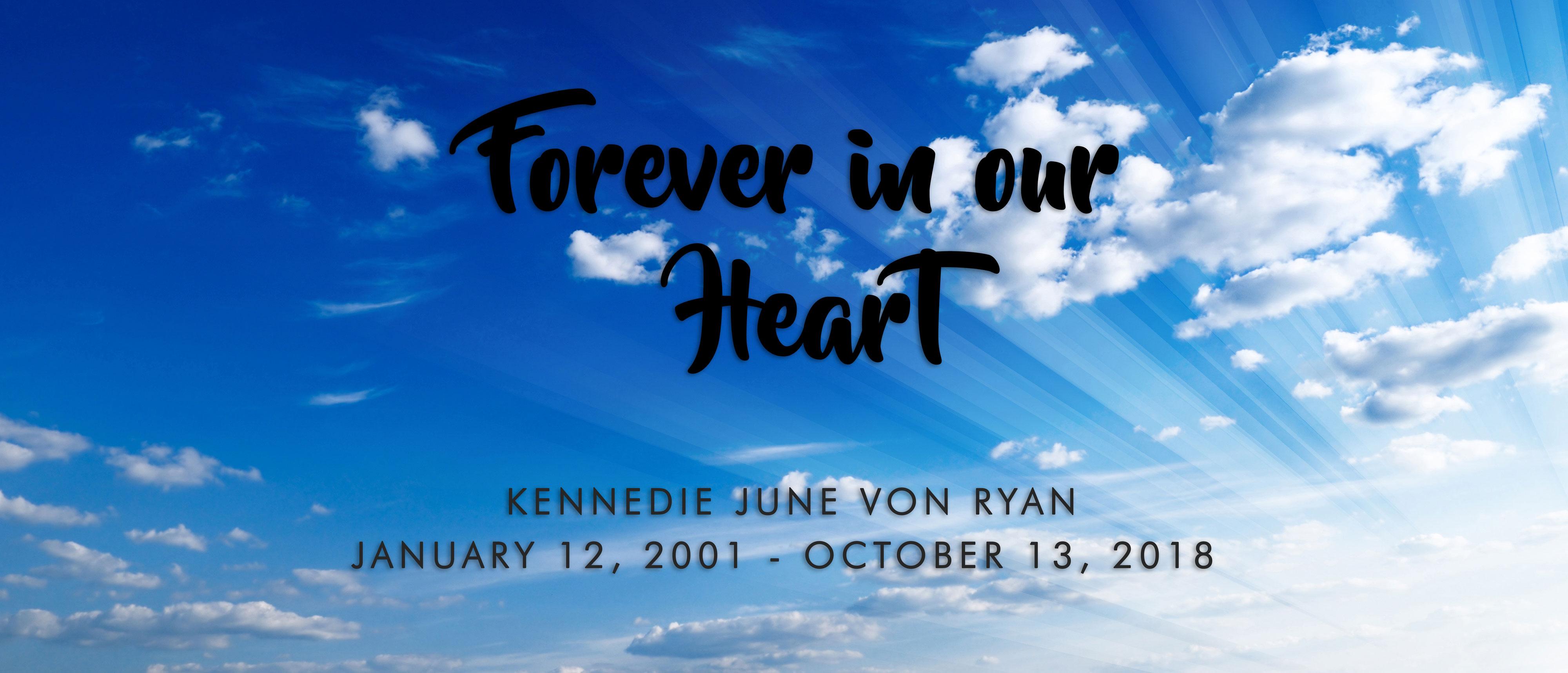 Kennedie Ryan Memorial Banner