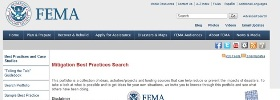 Passive floodgates are included in FEMA best practices stories to help others reduce or prevent future flood damage