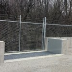 FloodBreak automatic flood barrier provides 24/7 flood protection