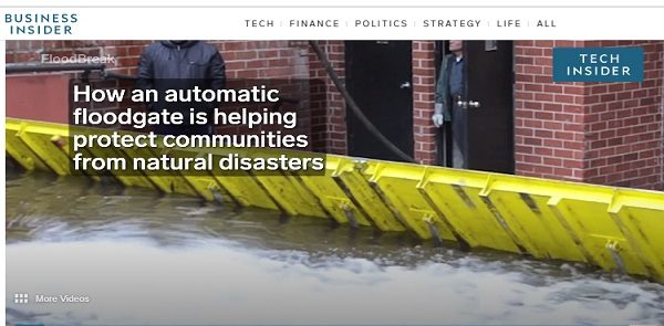 """""""It's structural. It's incredibly strong, but it lays in the ground. And it's so simple. It just floats up."""""""