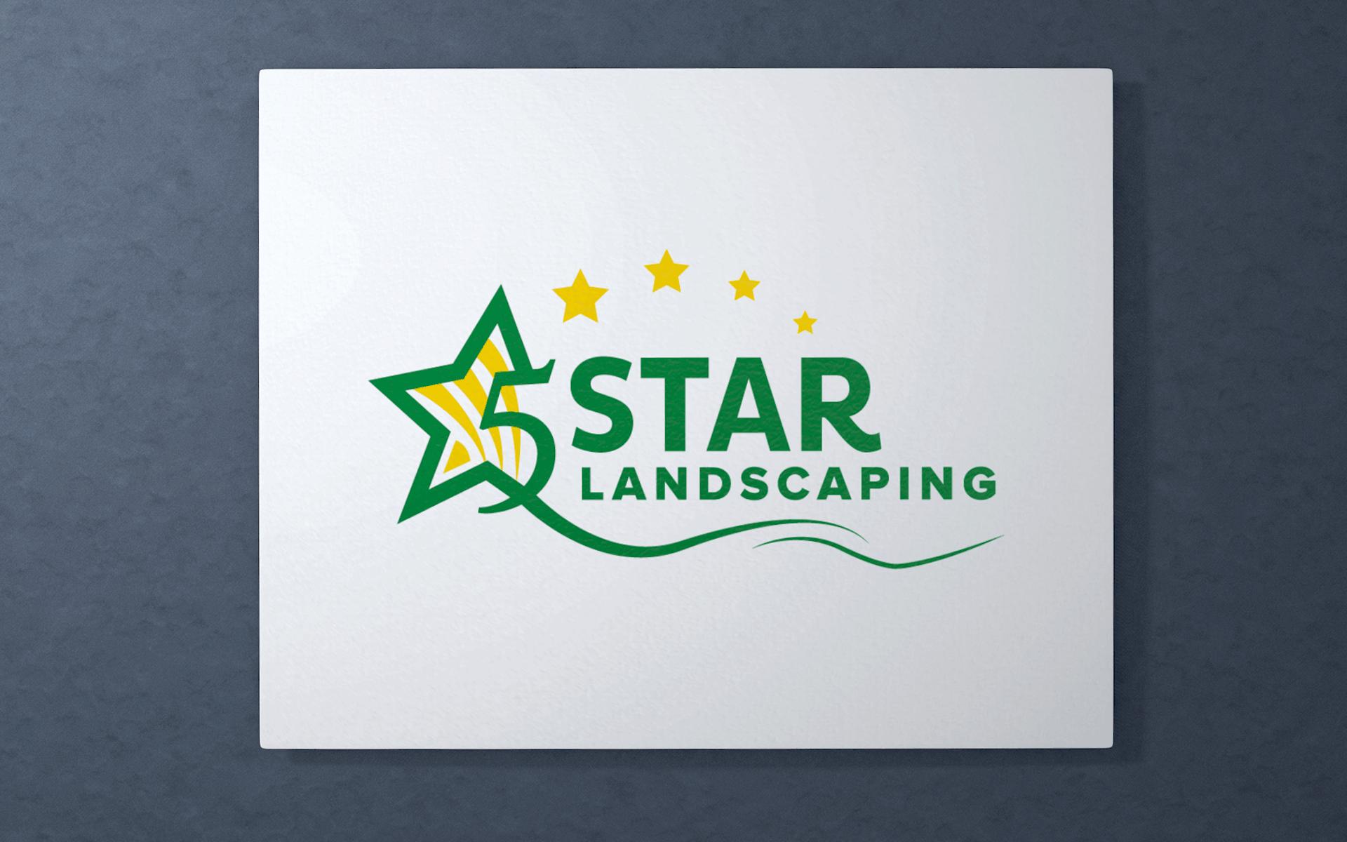 5STAR LANDSCAPING LOGO