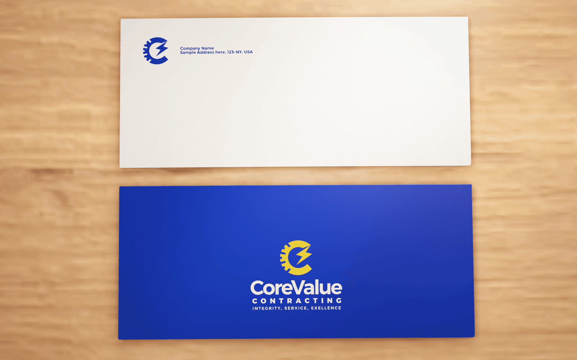 CORE VALUE CONTRACTING ENVELOPE