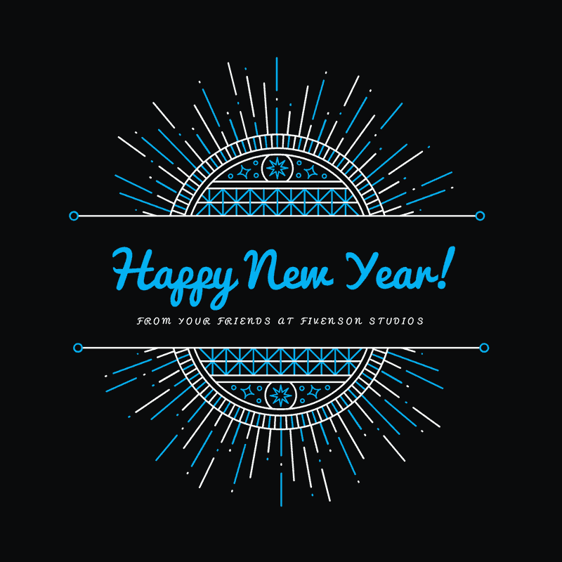 Happy 2018 From Your Friends At Fivenson Studios