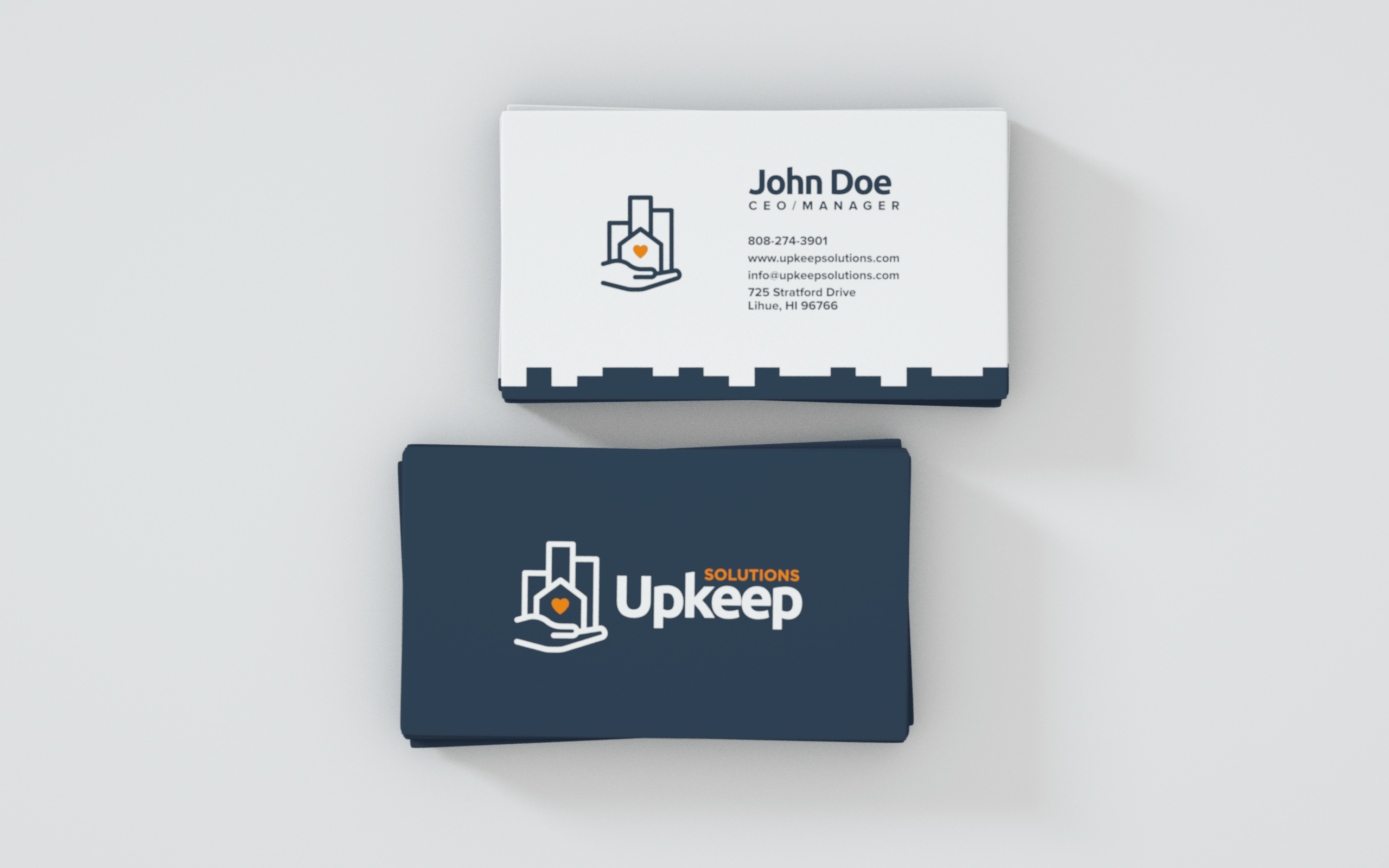 UPKEEP SOLUTIONS BUSINESS CARD