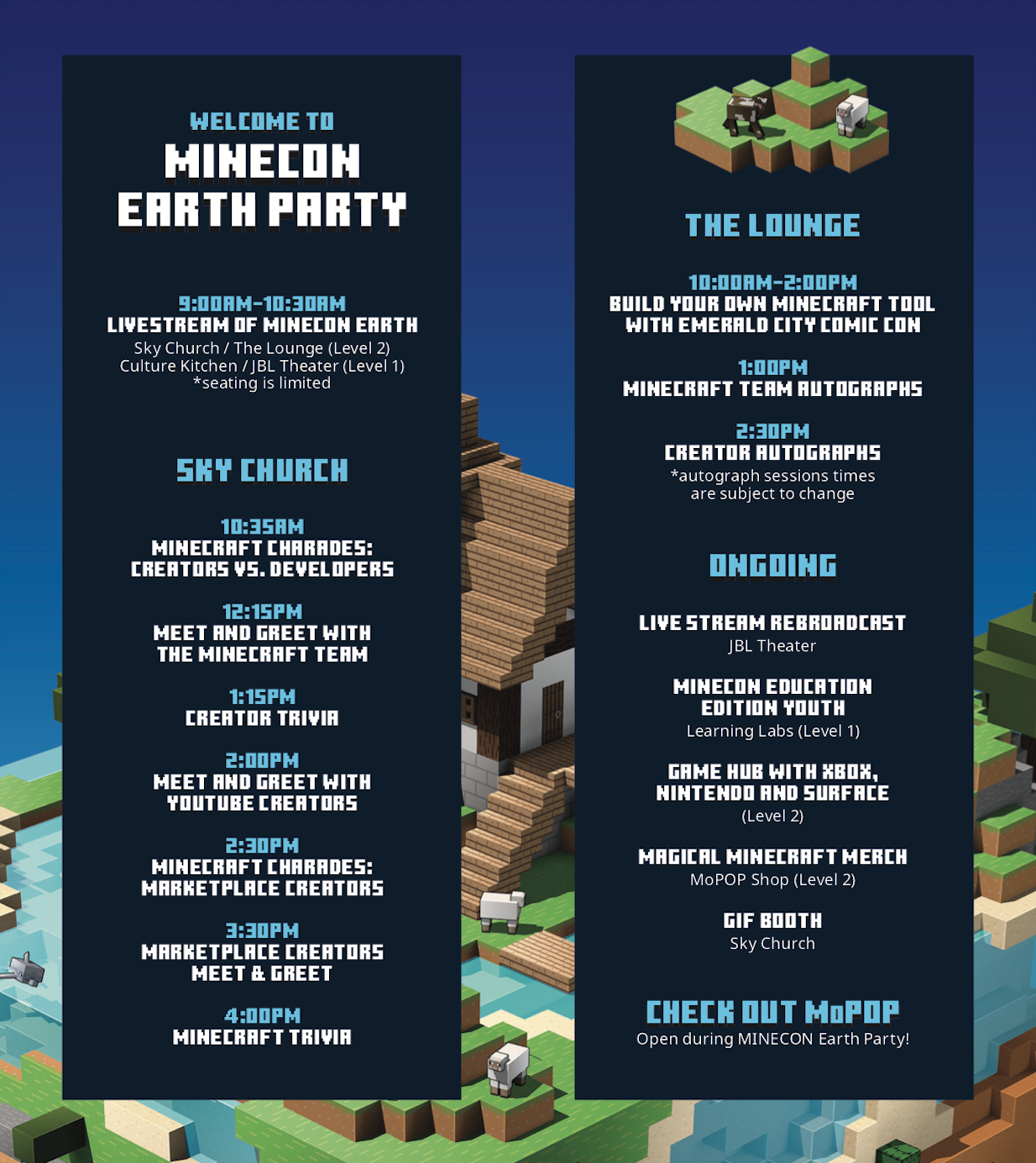 MINECON Earth Program