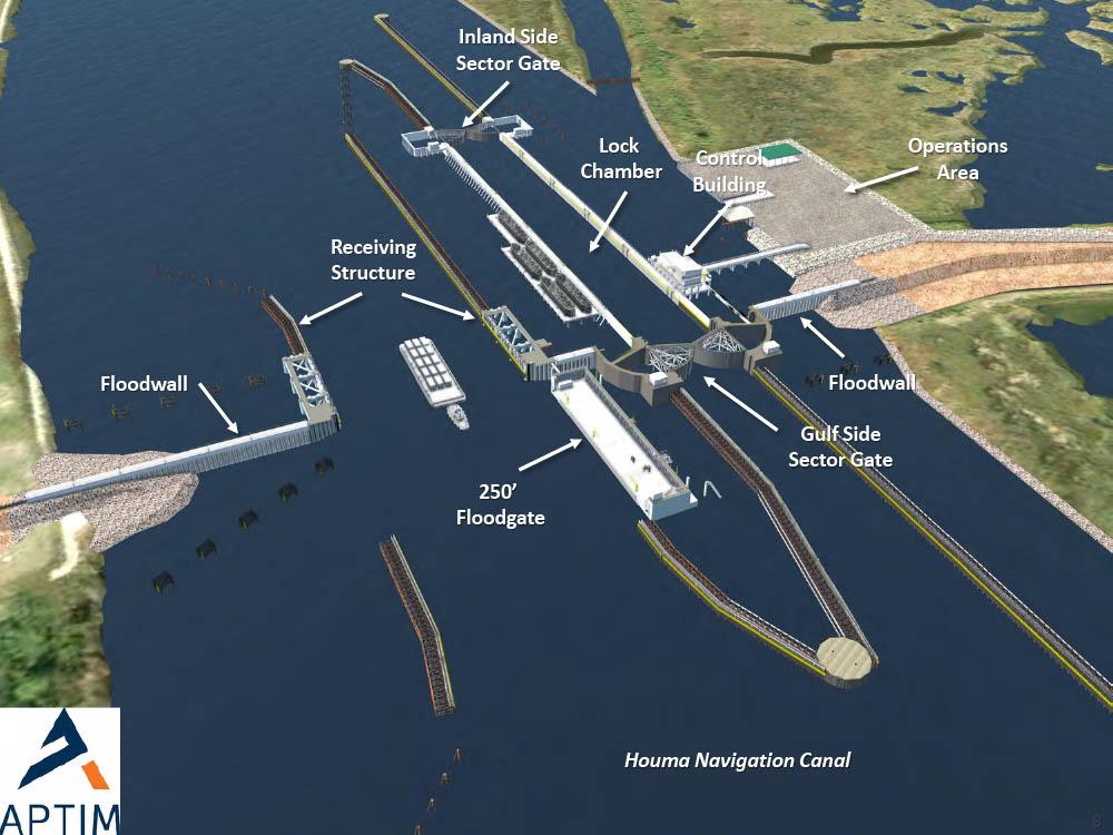 HNC Lock Benefits Bayou Region All Around