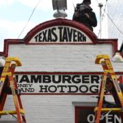 Texas Tavern Sign