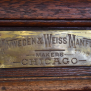 Minwegan & Weiss Antique Bar Chicago