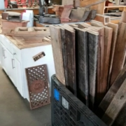 wood salvaged from barns