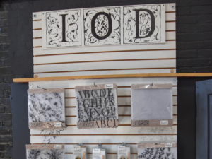 accesories to Black Dog Salvage's furniture paint line