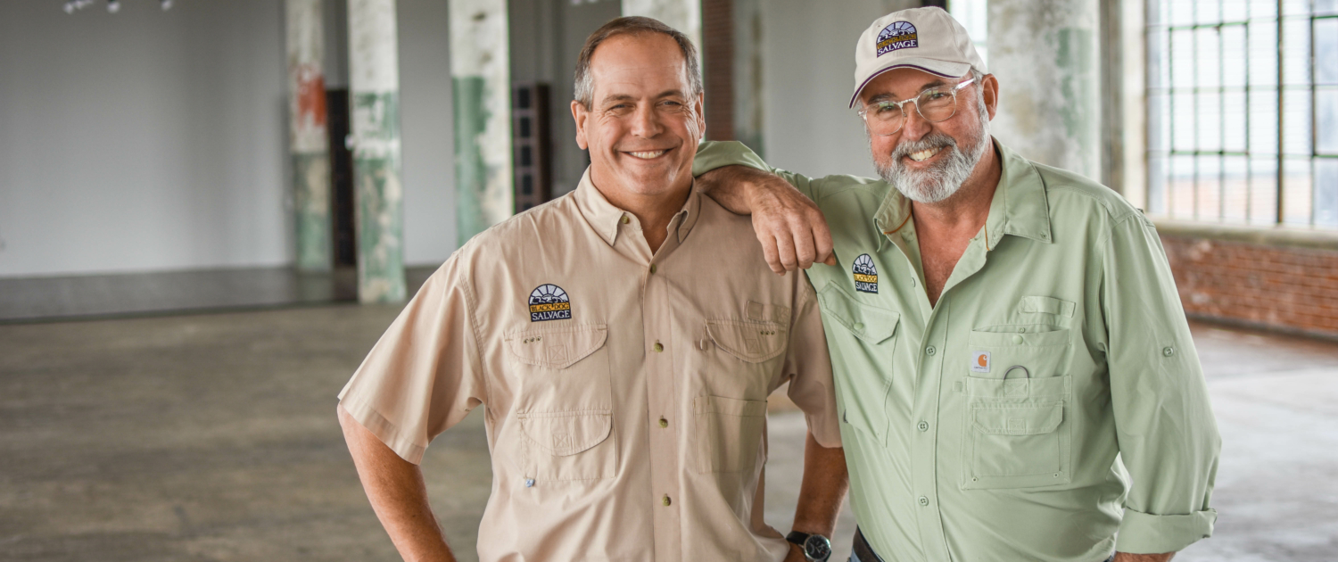 Black Dog Salvage co-owners Robert Kulp and Mike Whiteside