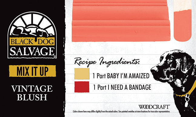 """""""Vintage Blush"""" is made from 1 Part """"Baby I'm Amaized"""" and 1 Part """"I Need a Bandage"""""""